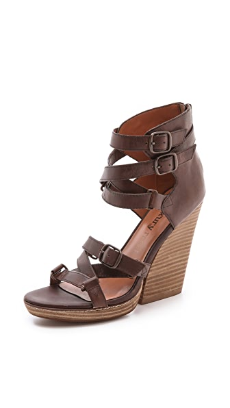 Luxury Rebel Shoes Olsen Multi Buckle Sandals
