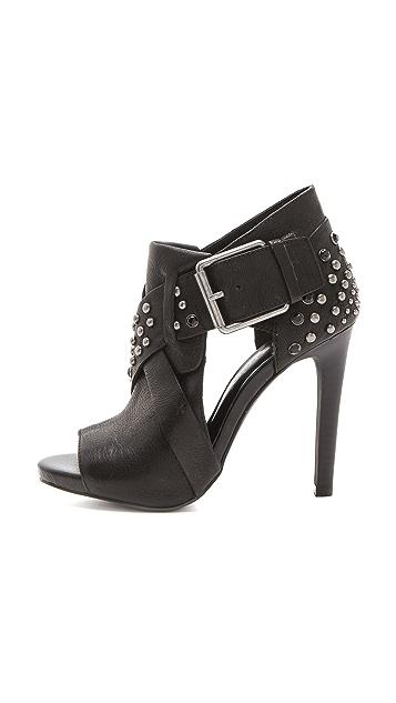 Luxury Rebel Shoes Aris Cutout Booties