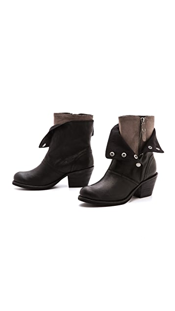 Luxury Rebel Shoes Beck Snap Boots