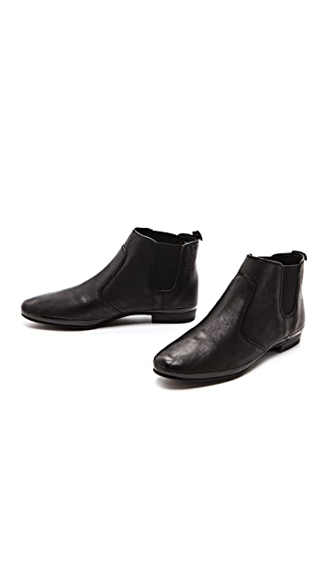 Luxury Rebel Shoes Panther Flat Booties