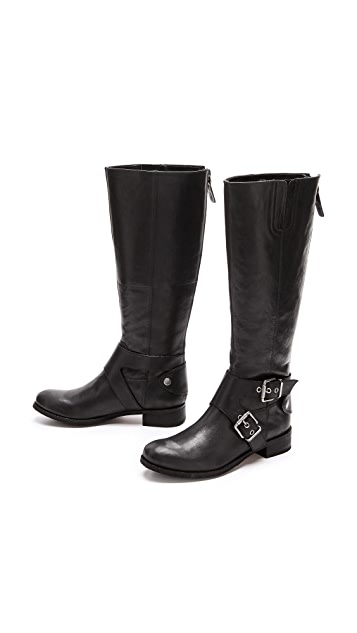 Luxury Rebel Shoes Lassia Tall Buckle Boots