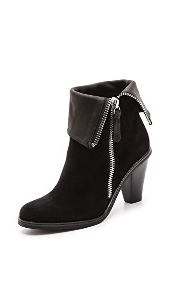 Luxury Rebel Shoes Pandora Zip Booties