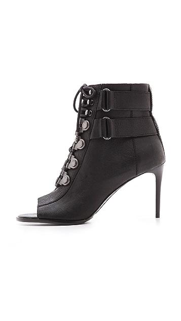 Luxury Rebel Shoes Cara Open Toe Booties