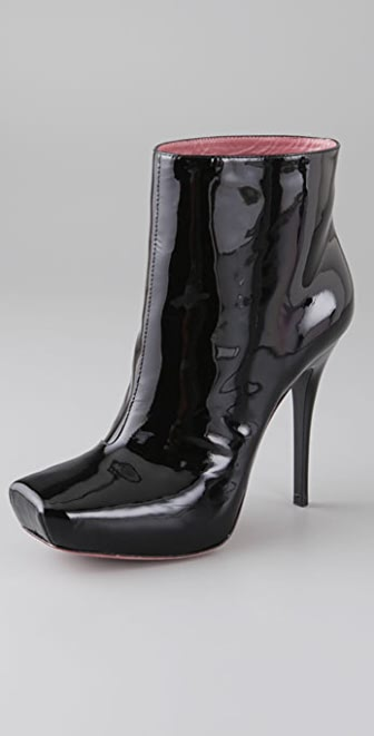 Luxury Rebel Jolie Patent Booties