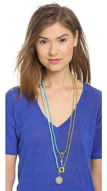 Lindsay Vallan The Sanam Wrap Necklace