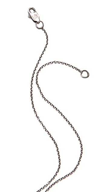 Lauren Wolf Jewelry Fangs Charm Necklace