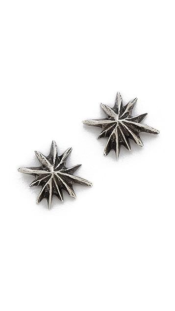 Lauren Wolf Jewelry Burst Stud Earrings