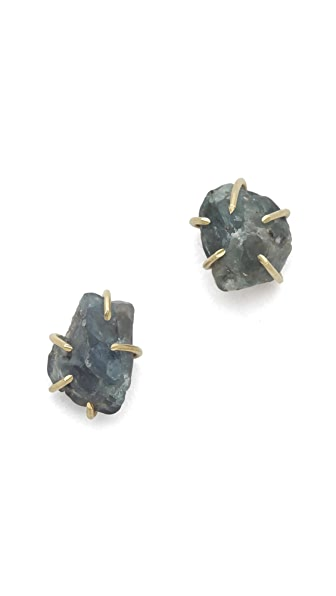 Lauren Wolf Jewelry Alexandrite Stud Earrings