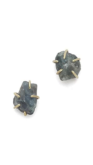 Lauren Wolf Jewelry Alexandrite Stud Earrings