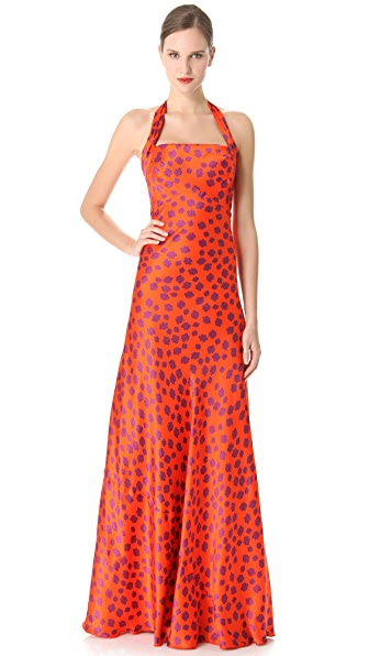 L'Wren Scott Why Not Halter Gown