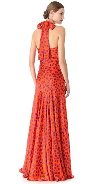 L'Wren Scott Why Not Halter Gown