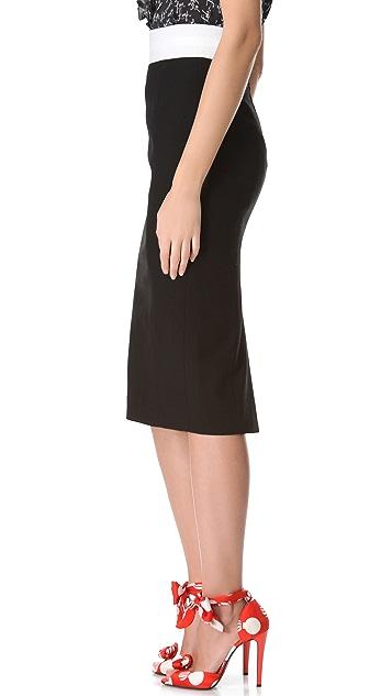 L'Wren Scott Tuxedo Skirt