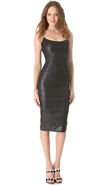 L'Wren Scott Sexy Cami Spaghetti Dress