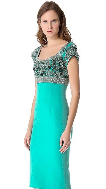 L'Wren Scott Short Sleeve Dress