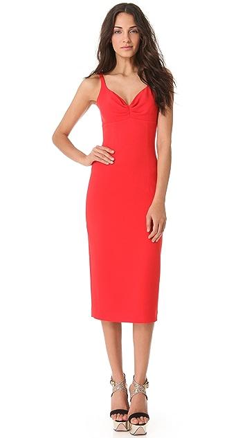 L'Wren Scott Sleeveless Red Dress