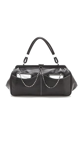 L'Wren Scott Black & White Handbag