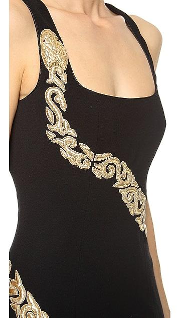 L'Wren Scott Allegory of Love Sleeveless Dress