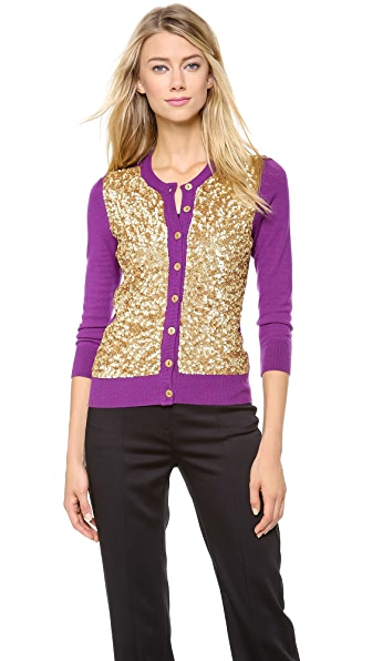 L'Wren Scott Sequin Cardigan