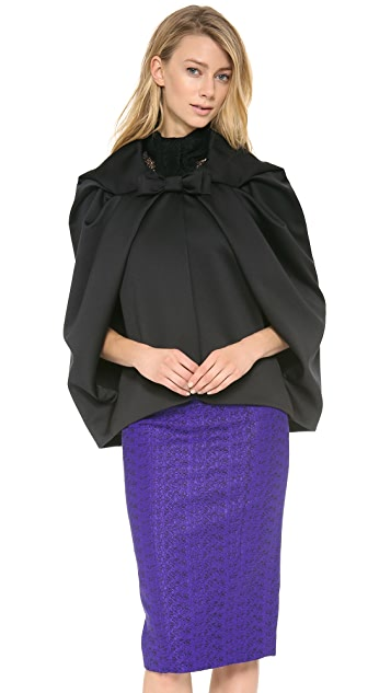 L'Wren Scott Cropped Cape
