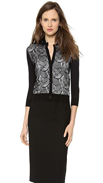 L'Wren Scott Embellished Cardigan