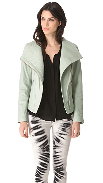 Mackage Tribeca Leather Jacket
