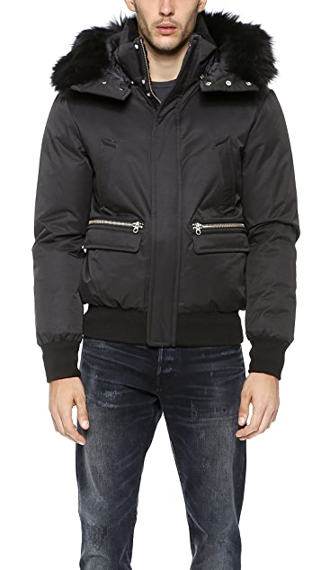 Mackage Cohen Down Bomber Jacket
