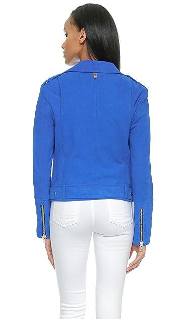 Mackage Flori Suede Moto Jacket