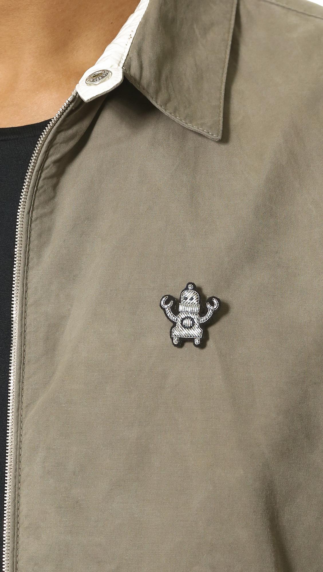 Macon & Lesquoy Robot Pin - Silver WnPkvHGKN
