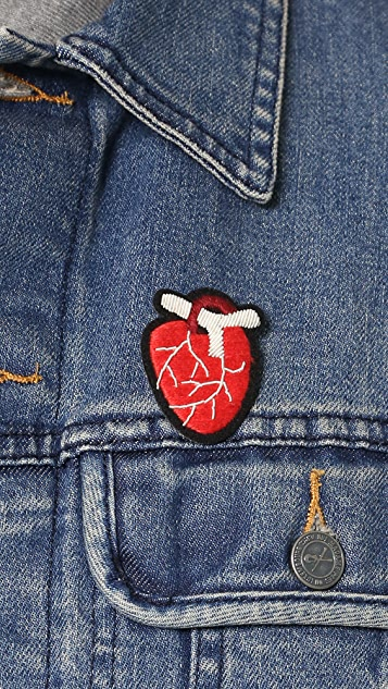 Macon & Lesquoy Anatomical Heart Pin