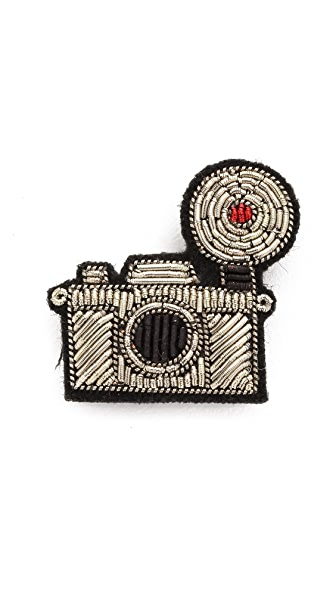 Macon & Lesquoy Camera Pin