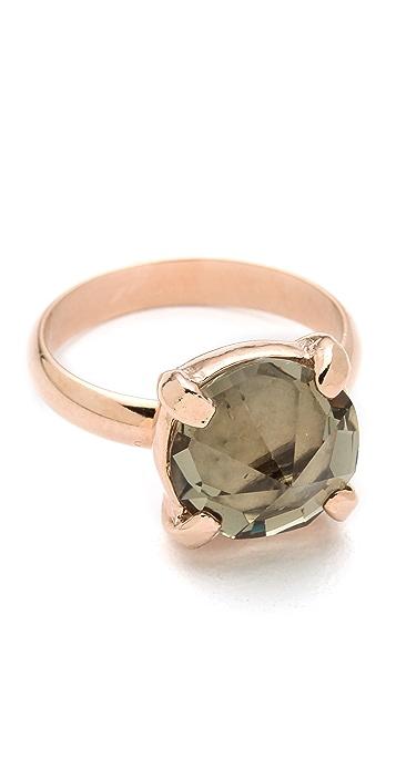 Made Her Think Spike Rhinestone Ring
