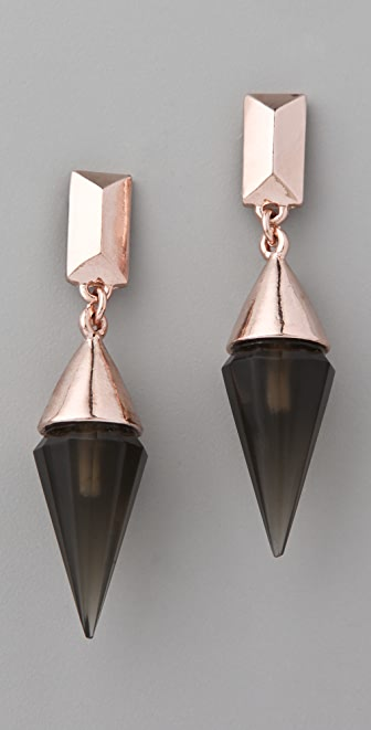 Made Her Think Pendulum Spike Earrings