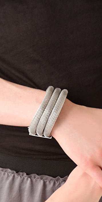 Made Her Think Triple Mesh Cuff