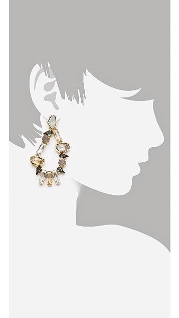 Made Her Think Dame Teardrop Earrings