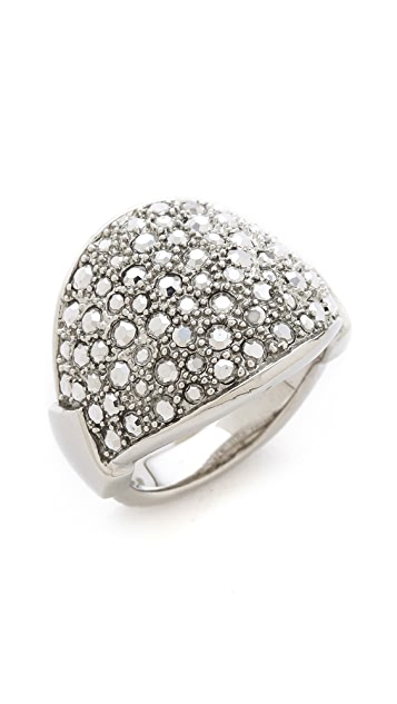 Made Her Think Pave Dome Ring