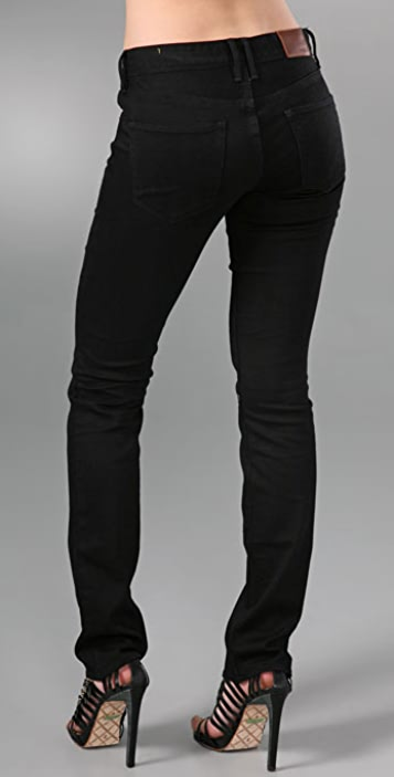 Madewell Rail Straight Leg Jeans