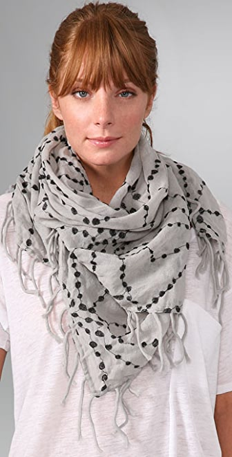 Madewell Square Dottie Scarf