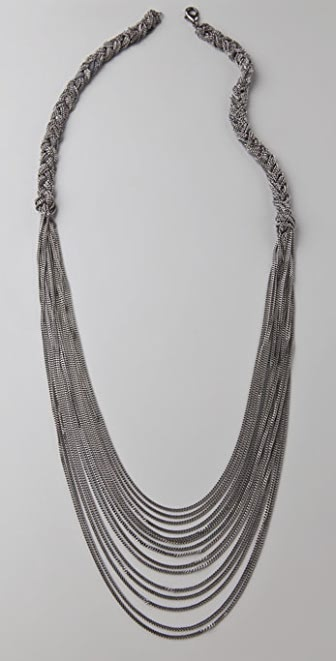 Madewell Braided Chain Necklace