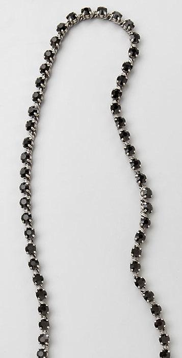 Madewell Long Rhinestone Necklace