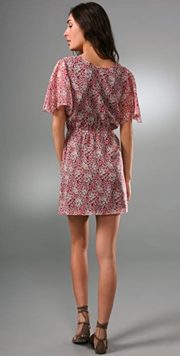 Madewell Georgette Flutter Dress