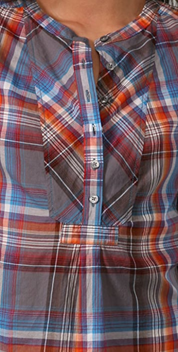 Madewell Tesha Plaid Tunic