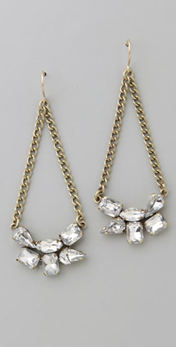 Madewell Rhinestone Swing Earrings