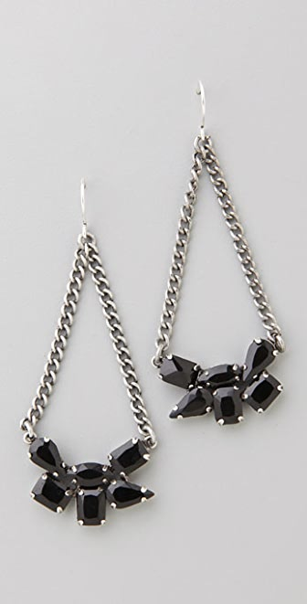 Madewell Rhinestone Swing Earrings
