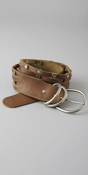 Madewell Woven Nail Head Belt