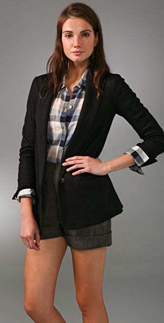 Madewell Fall Midnight Blazer