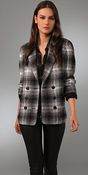 Madewell Double Breasted Marais Coat