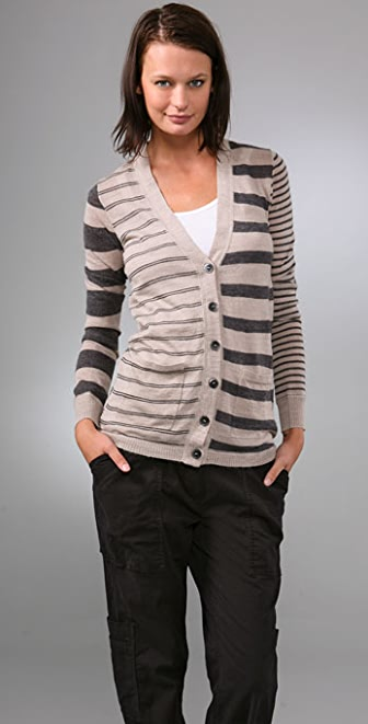 Madewell Mix Stripe Cardigan