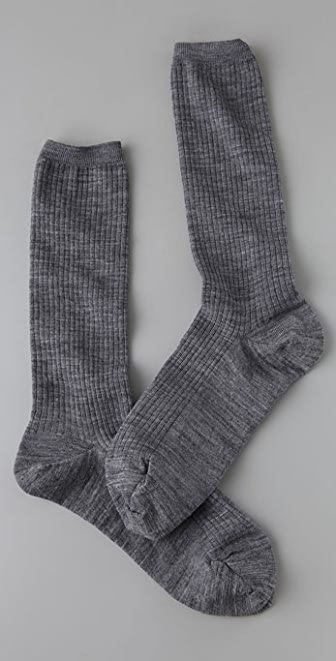 Madewell Ribbed Trouser Socks