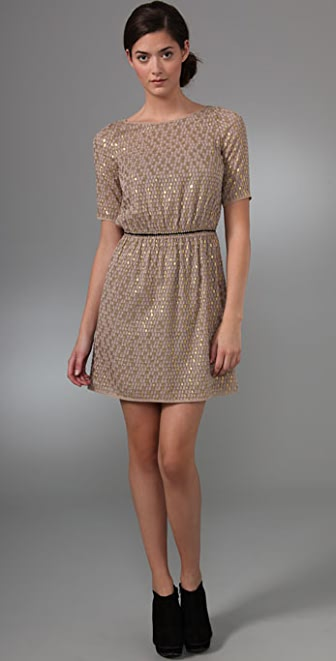 Madewell Last Dance Dotted Dress