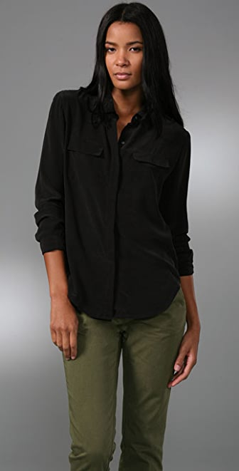 Madewell Silk Bromley Blouse